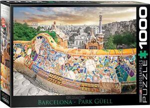 Barcelona Park Guell 1000 piece jigsaw puzzle 680mm x 480mm (pz)