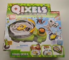 Qixels Turbo Dryer Playset w/ 500 Cubes Spin To Dry Official