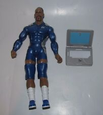 WWE JAKKS DELUXE AGGRESSION SERIES 11 MVP WITH LAPTOP ACCESSORY LOOSE FIGURE