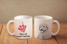 "Glen of Imaal Terrier - ceramic cup, mug ""I love"", Ca"