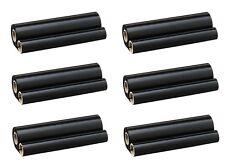 6 Stück Faxrollen f. Siemens 860 870 890 / CX-401 / Otello TFP-31 TTR INK Ribbon