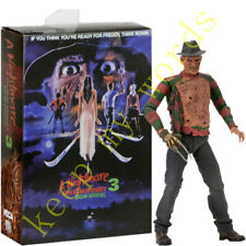 Neca A Nightmare On Elm Street 3 Freddy horror Movie 18cm PVC Action Figure Toy