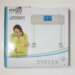 Homedics Digital Scale Glass Platform 400 lb Capacity SC-448 New Opened Box