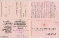 MARSALA - PREMIATA FATTORIA DI VINI E VERMOUTH C. & F.LLI MARTINEZ (TRAPANI)