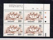 Tanzania Año Internacional de la Juventud 1986 (CU-110)