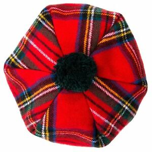 Pure Wool Scottish Tam   More Colours Available