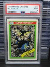 1990 Marvels Universe Hulk (Gray) Super Heroes #17 PSA 9 MINT Q162