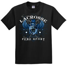 Lacrosse Eagle T-Shirt Jersey Short and Long Sleeve New Youth or Adult