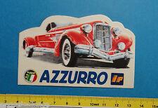 IP AZZURRO - adesivo-sticker anni '80 - NUOVO-NEW -A29