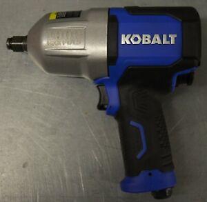 """Kobalt SGY-AIR236 1/2"""" Drive Air Impact Wrench 1,000 FT/LB Max  NEW"""