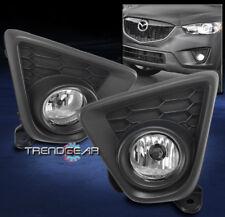 2013 2014 2015 MAZDA CX-5 FRONT BUMPER CHROME FOG LIGHTS LAMP KIT W/COVER+SWITCH