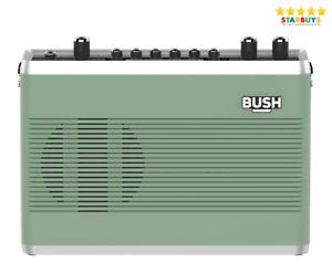 Bush Classic Retro Digital DAB & FM Radio With Bluetooth - Sage Green Teal