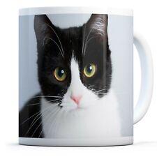 Beautiful Black Cat - Drinks Mug Cup Kitchen Birthday Office Fun Gift #15634
