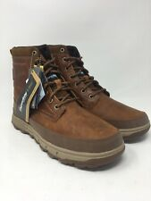 Caterpillar Men's Viaduct Ice+ Waterproof Winter Boot Size 9 US Brown