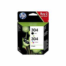 Original HP 304 Tintenpatrone Druckerpatrone 3JB05AE schwarz und 3 farbig