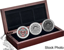 Canada 2015 $25 Singing Moon Mask 3 Silver Coin Set