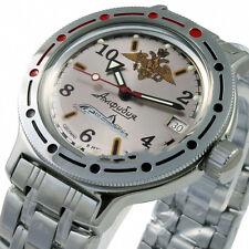 NEW RUSSIAN VOSTOK 2416B AUTO AMPHIBIAN WATCH 420392 AMPHIBIA NAVY SUBMARINE!!