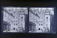 Loches Francia Foto Stereo Negativo Su Film Morbido 1913