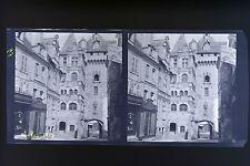 Loches France Photo stéréo négatifsur film souple 1913