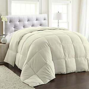 100% Egyptian Cotton 1 PC Comforter 1200 TC Solid SUP1