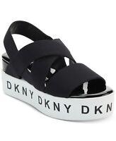 DKNY Women's Clare Slingback Platform Sandal Size 6 Black