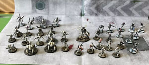 Huge Rare Studio Painted Corvus Belli Infinity Aleph Army. Must See. Look!