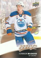 2017-18 Upper Deck MVP Hockey #100 Connor McDavid CL Edmonton Oilers