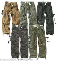 SURPLUS VINTAGE FATIGUE COMBAT TROUSERS US ARMY WORKWEAR BRAND NEW CARGO PANTS