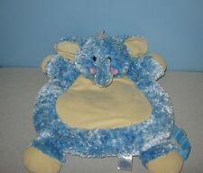 "Kids Preferred Blue Elephant Tote Sleepover Backpack 18"" Soft Stuffed Plush"