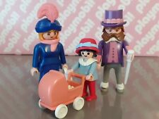 Vintage 1990 Victorian Theme Playmobil - Victorian Family - 5507 - Complete
