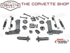 C2 C3 Corvette Parking Brake Hardware Kit Stainless Steel 1965-1982 X4229