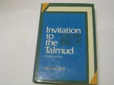 Invitation to the Talmud: A Teaching Book by Jacob Neusner INTRO TO TALMUD