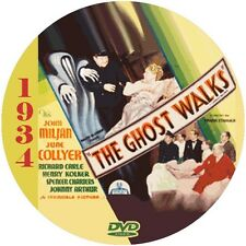 """The Ghost Walks (1934) Thriller and Mystery NR CULT """"B"""" Movie DVD"""