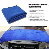 60x160cm Large Microfibre Towel Car Drying Cleaning Polish Cloth Detailing G3L5
