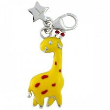 Silver Charm TINGLE GIRAFFE, New, Bracelet Charms, SCH244, Jewellery, Boxed