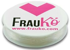 8m Rolle Nylonfaden Bastelschnur Band elastisch transparent 0,6 mm - FK00181