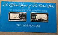 The Official Ingots of the United States, North Dakota, South Dakota, Silver Bar