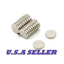 25PCS 10mm X 2mm Round Disc Strong Rare Earth Magnets Neodymium N52 U.S SHIPPED