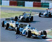 Autographed Formula 1 driver Jacques Villeneuve signed 8x10 Photo 4