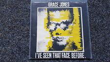 Grace Jones - I've seen that face before/ Demotion man 7'' Single [Sting]