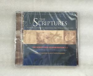 LDS MORMON / THE SCRIPTURES CD ROM EDITION 1.1 / AUTHORIZED VERSION / BRAND NEW