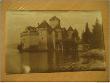 Chillon Castle Chateau Post Card Vaud Switzerland IPHONE