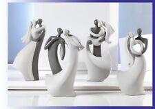 4 pz Bomboniera Matrimonio, innamorati stilizzati completa di elegante scatola