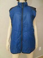 Michael Kors Navy Blue Puffer Vest MK Logo Women's Plus Size 3X XXL New NWT