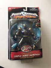 Power Rangers Ninja Storm Navy Thunder item #10444 Triple Zord Morphin c. 2003