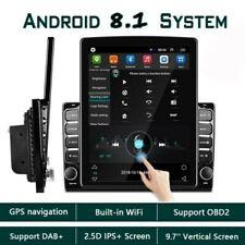 2Din Android 8.1 9.7 '' Radio estéreo vertical automóvil GPS Navi USB Bluetooth