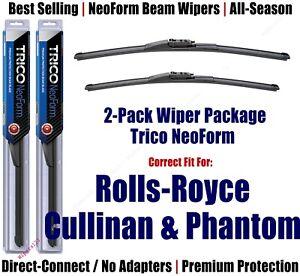 2pk NeoForm Wipers fit 2019+ Rolls-Royce Cullinan & Phantom - 162515/1715