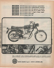 Pubblicità epoca 1968 GILERA ARCORE MOTO MOTOR advert werbung publicitè reklame