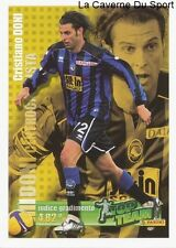 DONI # ITALIA ATALANTA RARE UPDATE STICKER CALCIATORI 2009 PANINI TOP TEAM