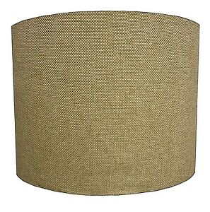 Lampshades Ideal To Match Beige Linen Curtains & Beige Linen Cushion Covers.